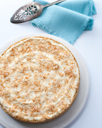 Lemon Pie with Toasted Coconut 1 | The Budding Table