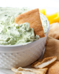 Whipped Feta & Spinch Dip 11 | The Budding Table