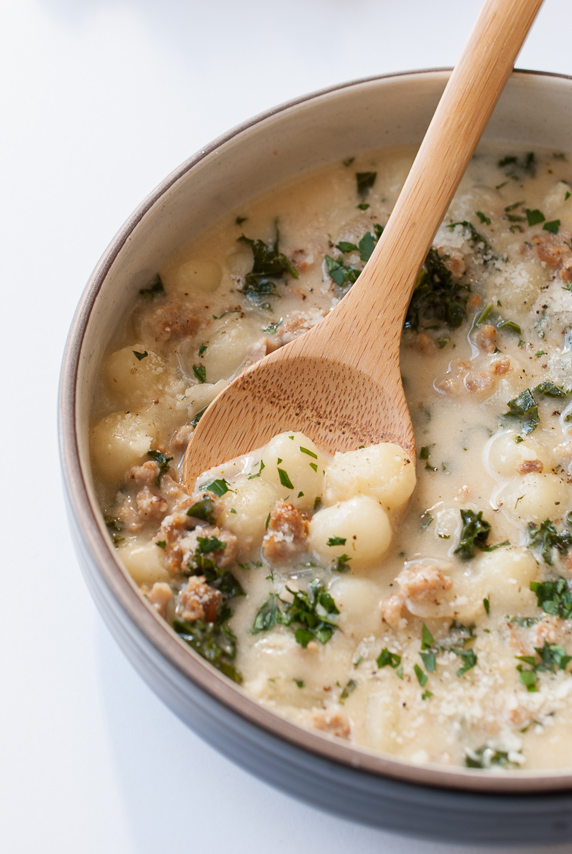 Gnocchi Zuppa Toscana The Budding Table