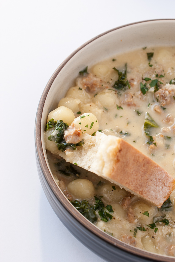 Gnocchi Zuppa Toscana | The Budding Table